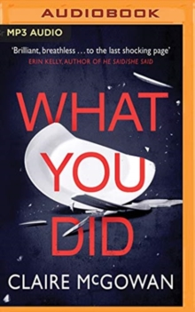 WHAT YOU DID, CD-Audio Book