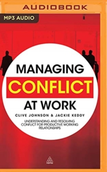 MANAGING CONFLICT AT WORK, CD-Audio Book