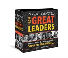 2021 Great Quotes from Great Leaders Boxed Calendar, Calendar Book