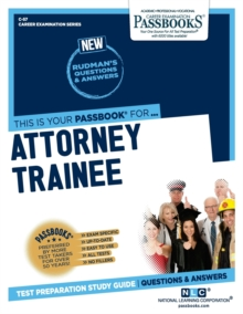 Attorney Trainee, Paperback / softback Book