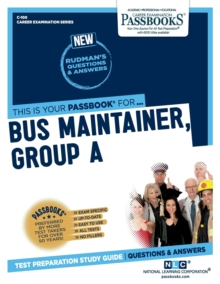 Bus Maintainer, Group A, Paperback / softback Book