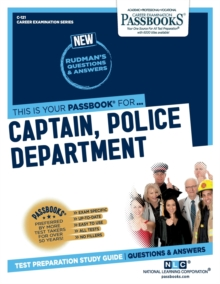 Captain, Police Department, Paperback / softback Book