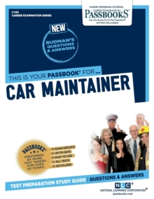 Car Maintainer, Paperback / softback Book
