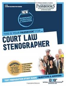 Court Law Stenographer, Paperback / softback Book