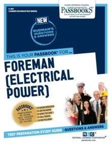 Foreman (Electrical Power), Paperback / softback Book