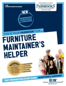 Furniture Maintainer's Helper, Paperback / softback Book