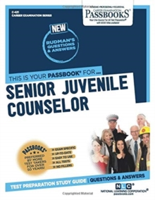 Senior Juvenile Counselor, Paperback / softback Book