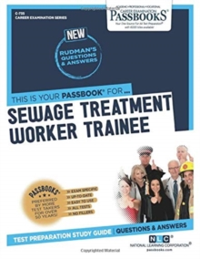 Sewage Treatment Worker Trainee, Paperback / softback Book