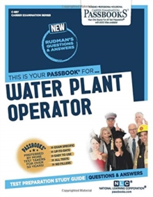 Water Plant Operator, Paperback / softback Book