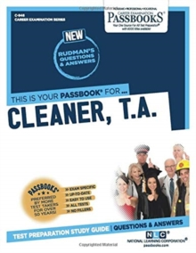 Cleaner (T.A.), Paperback / softback Book