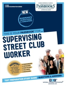 Supervising Street Club Worker, Paperback / softback Book