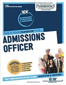 Admissions Officer, Paperback / softback Book