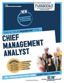 Chief Management Analyst, Paperback / softback Book