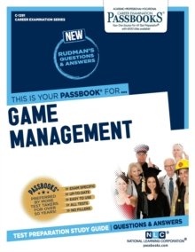 Game Management, Paperback / softback Book