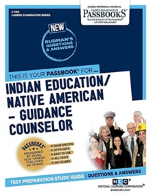 Indian Education -Guidance Counselor, Paperback / softback Book