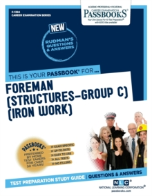 Foreman (Structures-Group C) (Iron Work), Paperback / softback Book