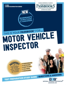 Motor Vehicle Inspector, Paperback / softback Book