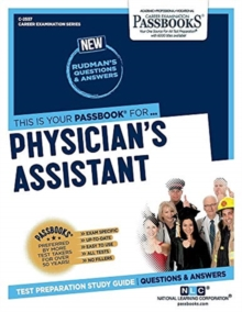 Physicianas Assistant, Paperback / softback Book