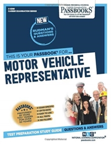 Motor Vehicle Representative, Paperback / softback Book
