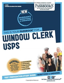 Window Clerk (USPS), Paperback / softback Book