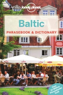Lonely Planet Baltic Phrasebook & Dictionary, Paperback Book