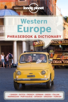 Lonely Planet Western Europe Phrasebook & Dictionary, Paperback Book