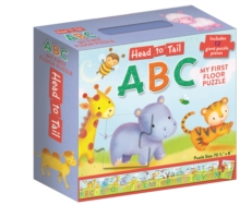 Head to Tail ABC Floor Puzzle, Game Book