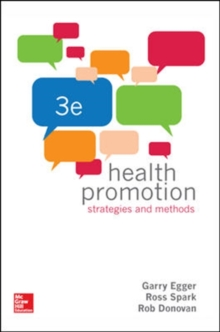 Health Promotion Strategies and Methods, Paperback / softback Book
