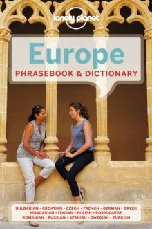 Lonely Planet Europe Phrasebook & Dictionary, Paperback Book