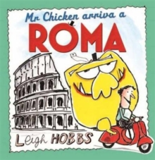 Mr Chicken Arriva a Roma, Hardback Book