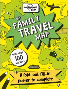 My Family Travel Map, Fold-out book or chart Book