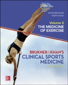 CLINICAL SPORTS MEDICINE: THE MEDICINE OF EXERCISE 5E, VOL 2, Hardback Book