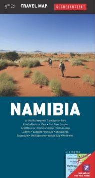 Namibia Travel Pack, Sheet map, folded Book