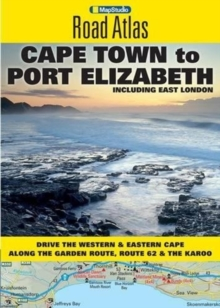 Road atlas Cape Town to Port Elizabeth, Paperback / softback Book