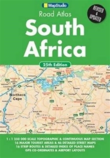 South Africa Road Atlas, Paperback Book