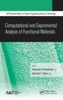 Computational and Experimental Analysis of Functional Materials, Hardback Book