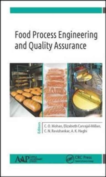 Food Process Engineering and Quality Assurance, Hardback Book