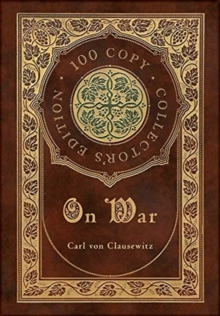 On War (100 Copy Collector's Edition), Hardback Book