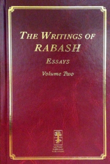 The Writings of Rabash : Letters Volume 1, Hardback Book