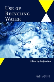 Use of Recycling Water, Hardback Book