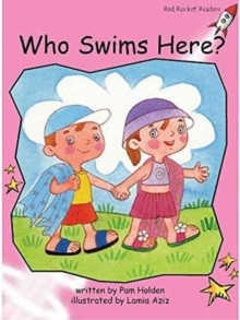 Red Rocket Readers : Pre-Reading Fiction Set C: Who Swims Here?, Paperback / softback Book