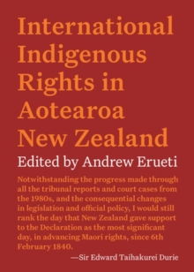 International Indigenous Rights in Aotearoa New Zealand, Paperback / softback Book