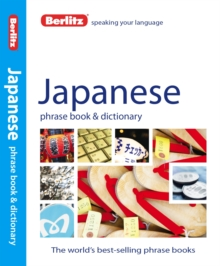 Berlitz Phrase Book & Dictionary Japanese, Paperback Book