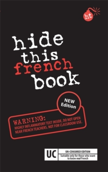 Hide this French, Paperback Book