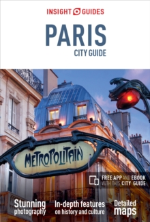Insight Guides City Guide Paris, Paperback Book