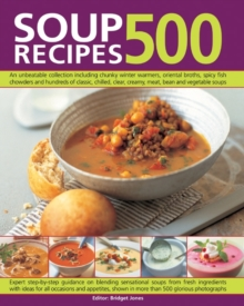 500 Soup Recipes, Paperback / softback Book
