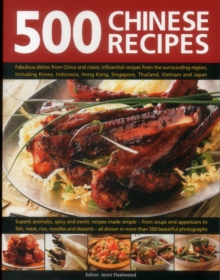500 Chinese Recipes, Paperback Book