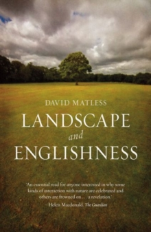 Landscape and Englishness, Paperback Book