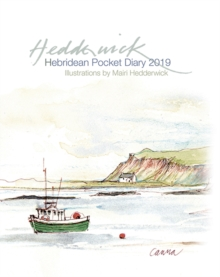 Hebridean Pocket Diary 2019, Hardback Book