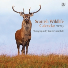 Scottish Wildlife Calendar 2019, Calendar Book